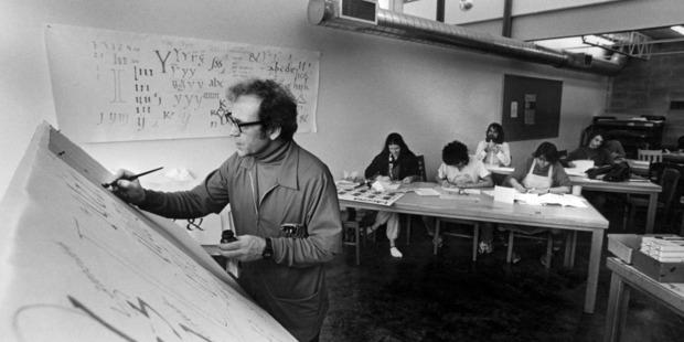 Robert Palladino, circa 1978. Photo / Reed College