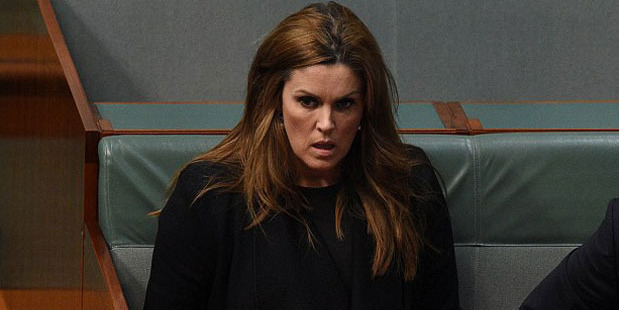 Peta Credlin has denied any romantic involvement with her former boss.
