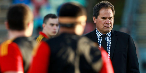 Dave Rennie was unhappy with his side's defence against the Lions. Photo / Getty