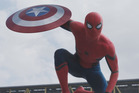 Spider-Man makes a cameo appearance in the latest trailer for Captain America: Civil War.