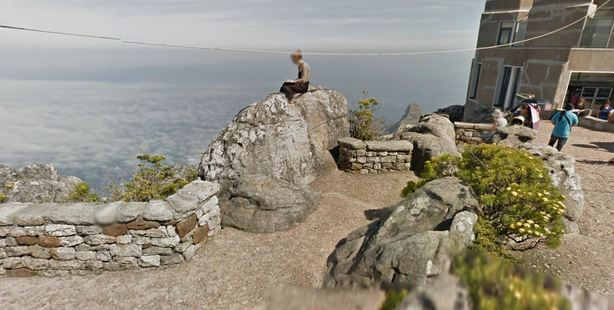The view from Table Mountain. Photo / Google