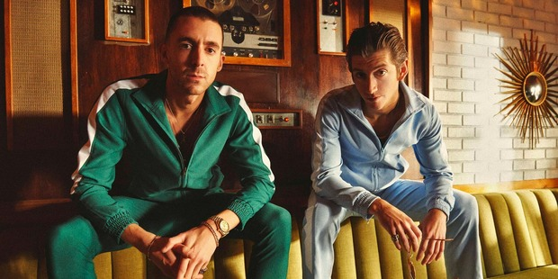 Miles Kane, left, and Alex Turner from The Last Shadow Puppets.
