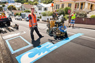 Wellington's award-winning Tsunami Blue Lines Project has sparked interest from further abroad. Photo / Wellington City Council