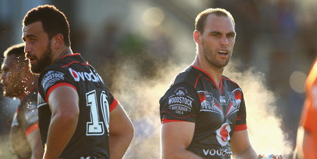 The Warriors face a big ask against the Broncos in Brisbane on Friday night. Photo / Getty