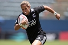 The increasing profile of Kayla McAlister and the NZ women's sevens team is helping boost player numbers. Photo / Getty Images