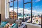 Apartment for sale at 4C, 2 Queen St, Auckland Central, belonging to Vanessa Mattei and her husband Fabrice.