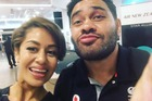 Teuila Blakely's video was in response to hundreds of comments about her decision to post a photo of her and Konrad Hurrell, with whom she was caught up in a scandal two years ago. Photo / Facebook