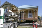 Whangarei moving company O'Neills Building Removals Limited will be moving the yellow villa from a Collinge Rd site to a paddock in the Dartmoor Rd area. Photo / Paul Taylor