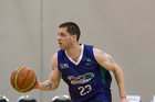 Eric Devendorf playing for the Super City Rangers in the NZ NBL. Photo / Photosport