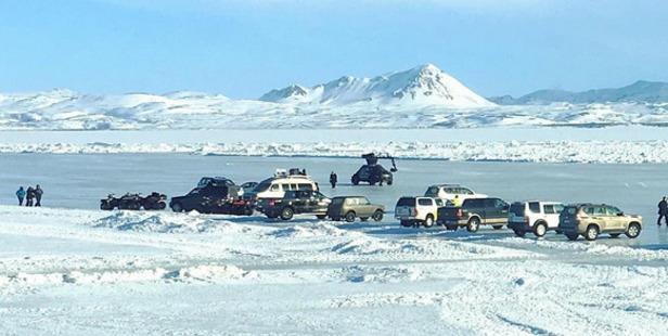 Fast 8 filming in Iceland. Photo / Instagram, Brett Daniels @theromulans