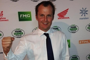 Tony Dowman, the winner of the East Coast regional final of the FMG Young Farmer of the Year. Photo / Christine McKay