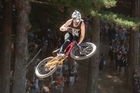 Check out a spot of action from yesterday's thrilling Slopestyle event at Crankworx on Mt Ngongotaha.