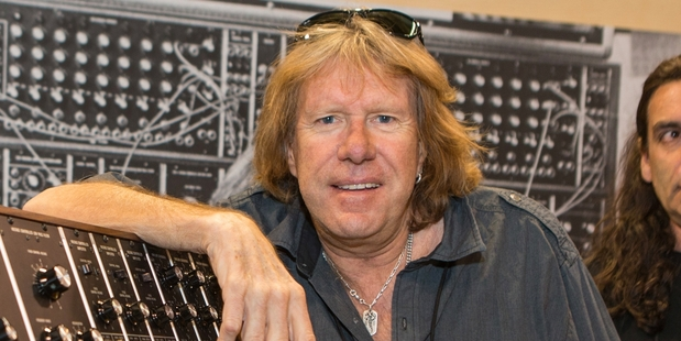 Keith Emerson and ELP released six platinum albums in the 1970s. Photo / AP