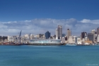 Originally touted as a possibility for the 2011 Rugby World Cup, the idea of a stadium on Auckland's waterfront has gained traction again. Picture / Getty Images