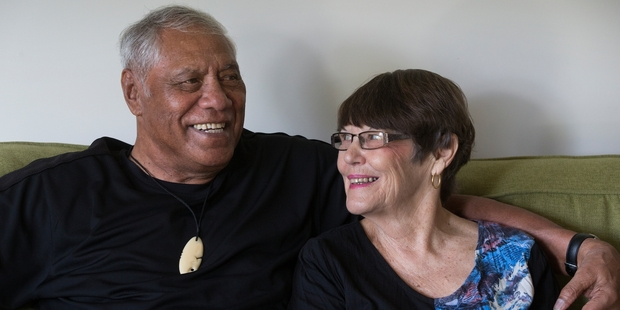 Loading Waka Nathan and his wife Janis say reading about the other former players' struggles with brain illness moved them to come forward. Photo / Brett Phibbs
