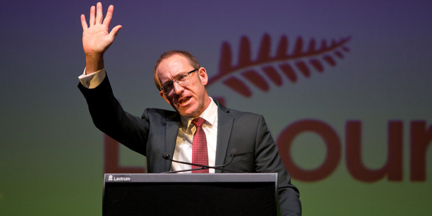 Andrew Little said he'd put a cap on immigration if in Government, and singled out migrant chefs. Photo / Mark Mitchell