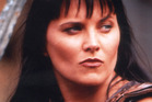 Lucy Lawless as Xena during the iconic 90s series.