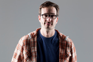 David Farrier, director of 'Tickled' is facing defamation charges from one of the subjects in his documentary. Photo / Dean Purcell