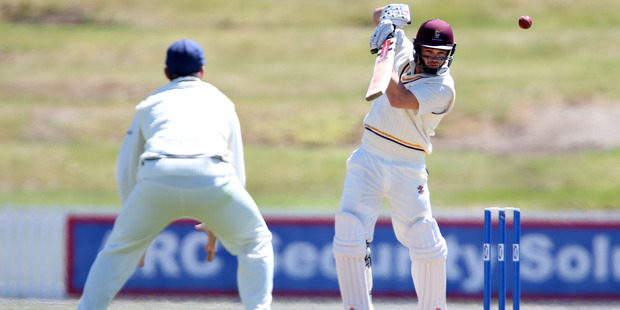 Daniel Flynn made 158 for Northern Districts. Photo / Michael Cunningham - Northern Advocate