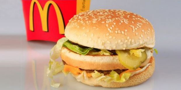 Did you know it takes less to burn off a Big Mac than a Whopper? Photo / NZ Herald