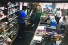 Frustrated South Auckland dairy workers defended themselves with hockey sticks from a group who allegedly stormed the shop and took $2500 worth of items from the store.