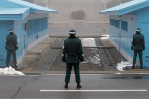 Dangerous territory. Tensions have been high following North Korea's claims of successful missile testing. Photo / Getty