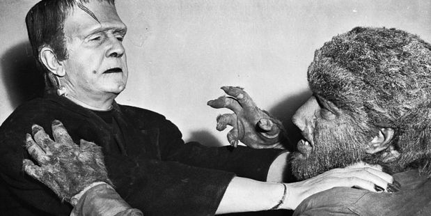 Frankenstein Meets The Wolf Man (1943). Photo / Getty Images
