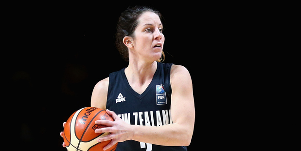 Micaela Cocks playing for the Tall Ferns. Photo / Getty Images
