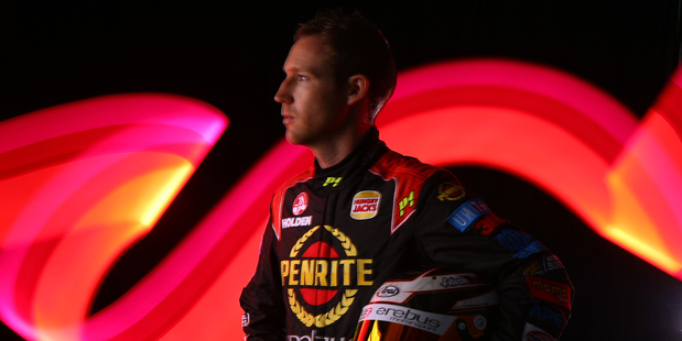 David Reynolds of Erebus Motorsport Penrite Racing Holden poses during a portrait session. Photo / Getty Images