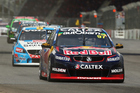 Shane van Gisbergen during Clipsal 500 at Adelaide Street Circuit. Photo / Getty Images