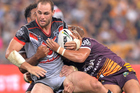 Simon Mannering during the round two NRL match against the Brisbane Broncos. Photo / Getty Images