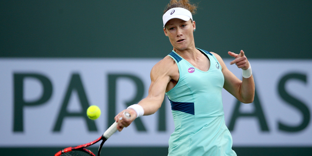 Samantha Stosur during the BNP Paribas Open at the Indian Wells Tennis Garden. Photo / Getty Images
