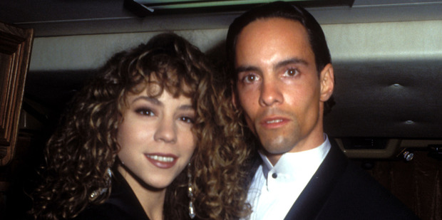 Mariah Carey and her brother Morgan before their relationship turned toxic. Photo / Getty Images