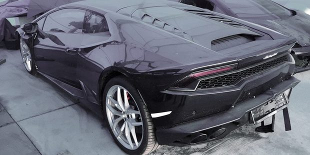 A $500,000 Lamborghini Huracan is for sale through a $1 reserve auction on Trade Me. Photo / Trade Me