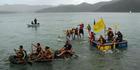 Whangaroa raft race