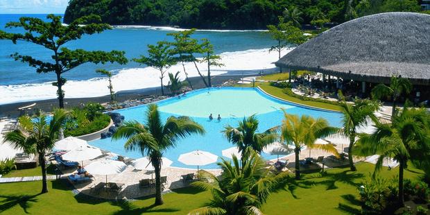 The four-star Tahiti Pearl Beach Resort.