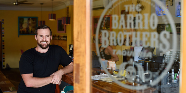 Josh Fitzgerald, owner of Barrio Brothers, Flying Burrito Brothers and Rye. Photo/George Novak