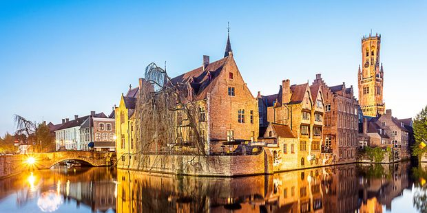 The delightful Belgian city of Bruges can be explored in a short amount of time. Photo / 123RF