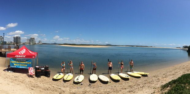 Ocean Addicts run exhilarating standup paddleboard lessons on Queensland's  Sunshine Coast.