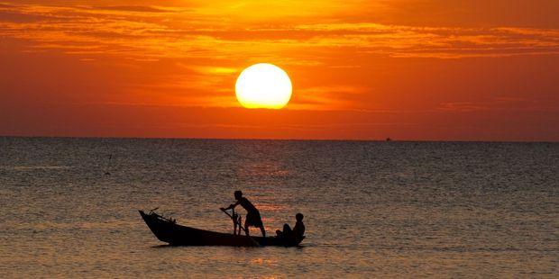 Sunset at Phu Quoc Island in Vietnam. Photo / 123RF
