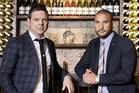 Chefs Ben Bayly and Gareth Stewart.