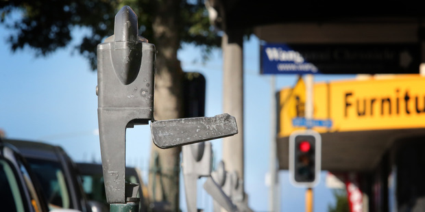 $76 A POP: Each vandalised parking meter costs the ratepayer at least $76 to fix. PHOTO/BEVAN CONLEY