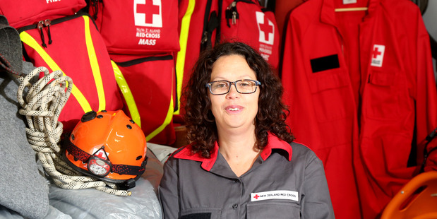 SUPPORT LINE: Whanganui Red Cross volunteer Gypsy Chant said handling disaster was about  resilience. Photo/ Bevan Conley