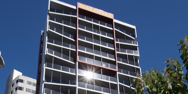 Waldorf Celestion Apartment Hotel, Auckland City. Photo /  Brett Phibbs