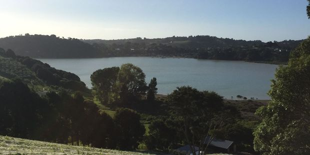 The view across to Rocky Bay, above, the Kawhe shop and Little Oneroa are proof that Waiheke is a slice of paradise.