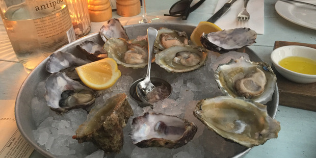 Bluffies at the Oyster Inn.