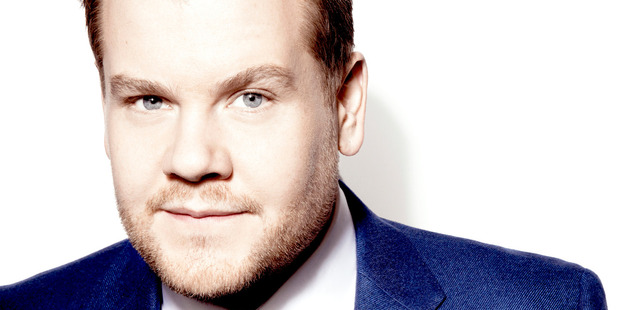 James Corden, host of The Late Late Show. Photo / CBS