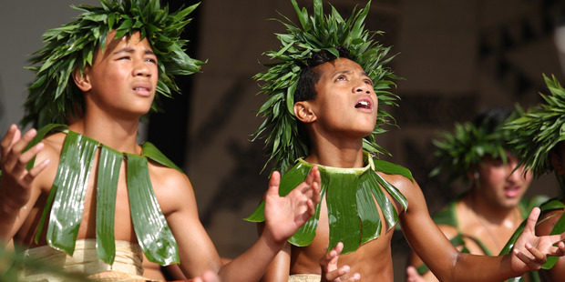 Wesley College Niue Performances at Polyfest. Photo / Supplied