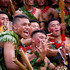 Members of Wesley College Tongan group during the ASB Polyfest. Photo / Dean Purcell