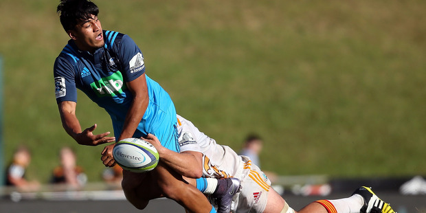 Rieko Ioane impressed on his return to the Blues in the pre-season this year. Photo / Getty
